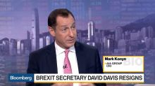 U.K. Brexit Secretary Resignation a Setback for May, AIA's Konyn Says
