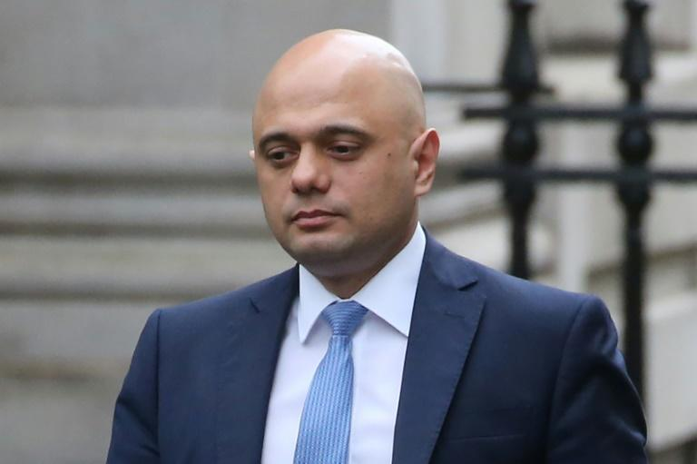 Sajid Javid reportedly quit a month before he was to deliver the annual budget (AFP Photo/Isabel Infantes)
