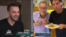 Tous en cuisine en direct avec Cyril Lignac : Tom Leeb cuisine avec son père Michel Leeb et séduit les internautes