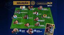 Ferj anuncia seleção do Carioca 2020 com 12 jogadores e dois técnicos. Gabigol é o craque
