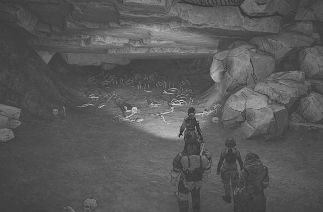 'Ashwalkers' is a moody, grayscale survival simulator with 34 endings