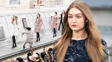 Watch Gigi Hadid strong-arm crasher off Chanel catwalk