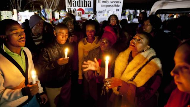 South Africa: Nelson Mandela improved overnight