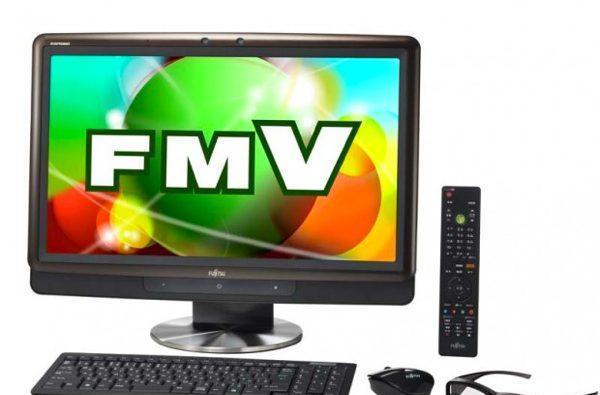 Fujitsu's FMV PC series of 3D desktops hits Japan this month