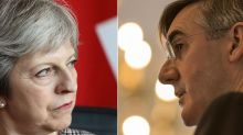 Jacob Rees-Mogg submits letter of no confidence in Theresa May in attempt to topple PM over Brexit