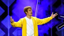 Justin Bieber shouts 'Dorito' and 'burrito' as he forgets lyrics to number one single Despacito