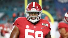 Is Alabama DT Christian Barmore the ideal selection for the Raiders at No. 17?