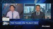Tilray CEO says there could be a $100 billion pot stock c...