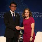 Vancouver meeting focuses on sanctions as Koreas explore detente