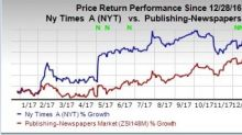 Does NY Times Efforts Place the Stock Favorably for 2018?