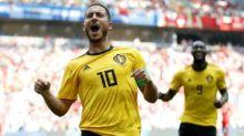 FIFA World Cup 2018: Two each for Hazard and Lukaku as Belgium thump Tunisia 5-2