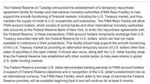 又一流動性措施 Fed偕海外央行建立FIMA臨時回購操作
