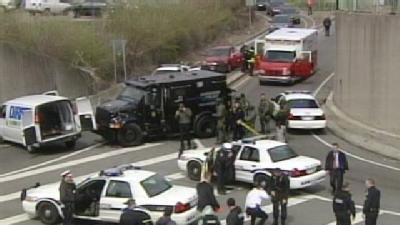 Team Coverage: Standoff Shuts Down I-75