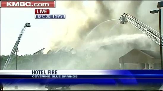 All guests safe after Blue Springs Comfort Inn fire