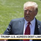 Trump Says Lawmakers Have Reached Deal on Debt Limit Suspension