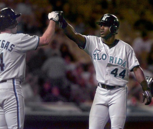 Preston Wilson finished second in the Rookie of the Year voting in 1999. (AP Photo)