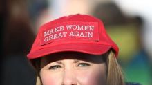 Women protest against Trump on streets of Europe's capitals