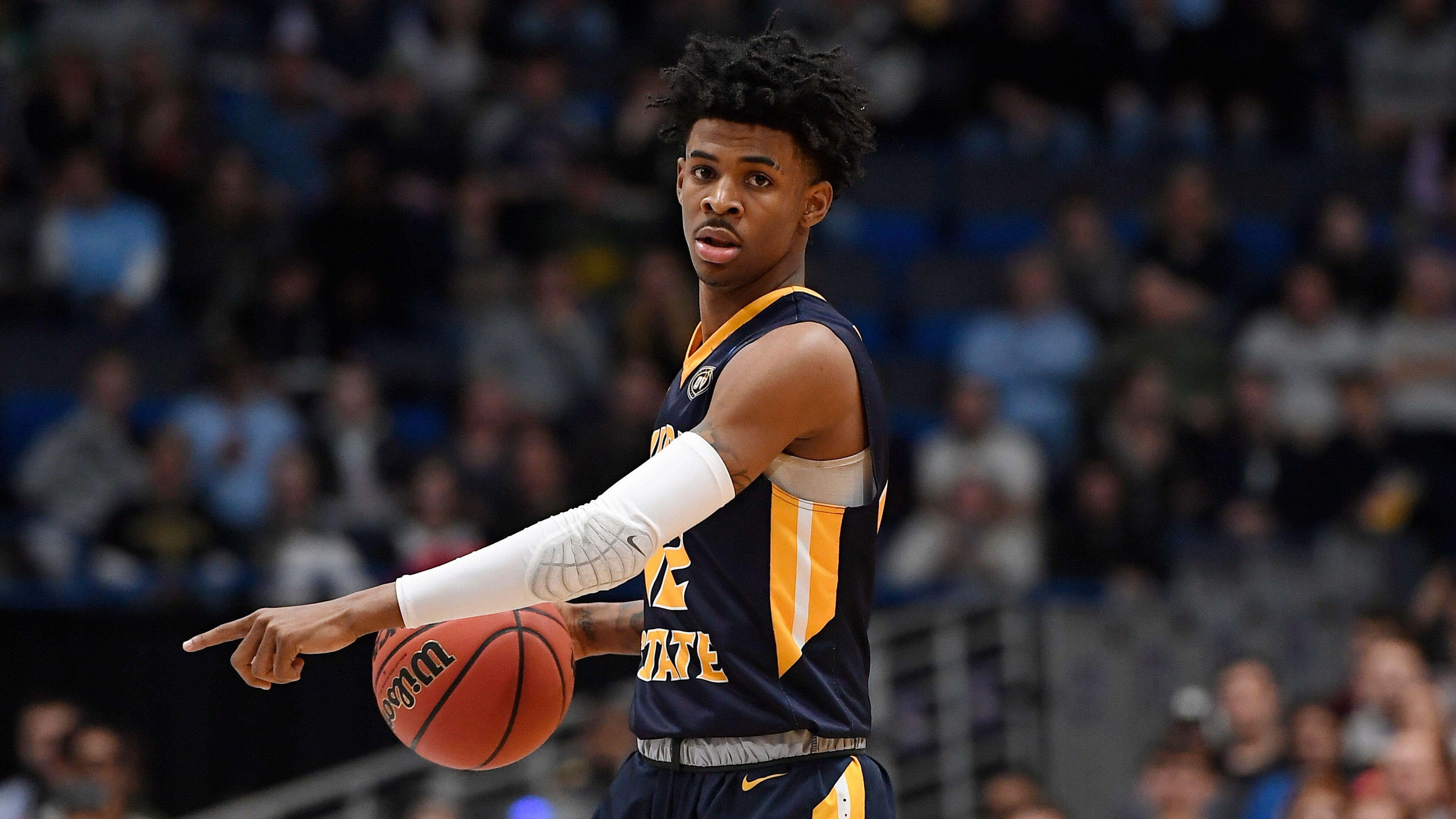 100% authentic 15b53 11a26 Report  Memphis Grizzlies  locked in  on drafting Ja Morant