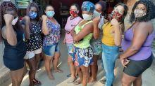 Mulheres criam mercado solidário para famílias afetadas pela pandemia