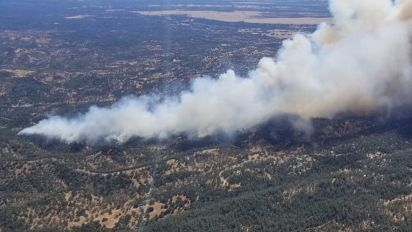 Fire dangers grow in West as severe storms hit Plains