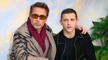 Robert Downey Jr and Tom Holland surprise fan who protected sister from dog attack
