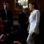 U.S. Representative Ocasio-Cortez says to serve on financial services panel