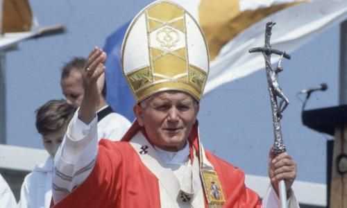 Man arrested over theft of relic containing blood of Pope John Paul II