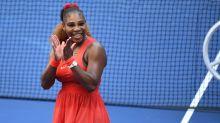 Serena Williams battles to 16th US Open quarter-final after tough three-set victory over Maria Sakkari