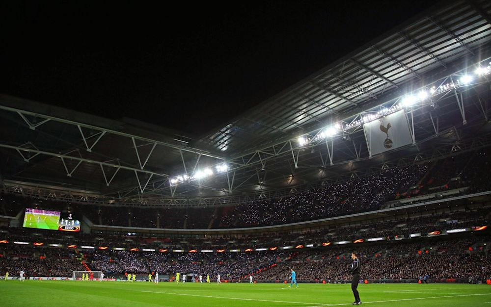 Spurs now have until March 31 to activate their option to play at the national stadium - Rex Features