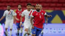 Soccer-Almiron stars as Paraguay defeat Chile 2-0 in Copa America