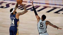 Pelicans' Brandon Ingram named NBA most improved player