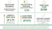 Waste Management Announces Third Quarter Earnings
