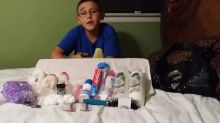 9-year-old takes action to help the homeless