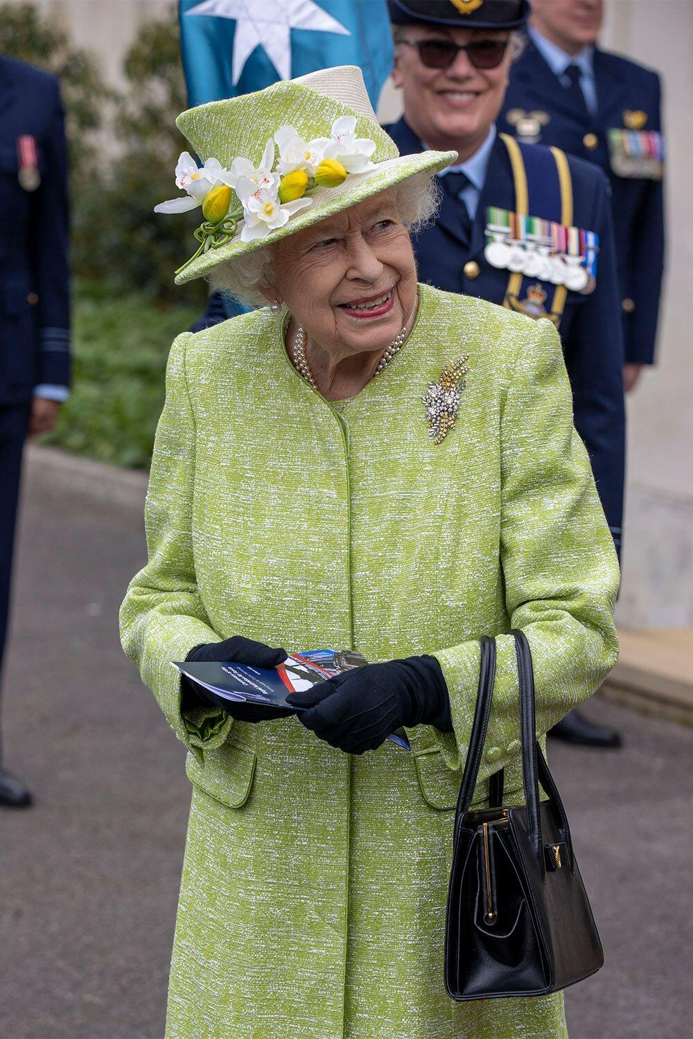 Queen Elizabeth Attends First Royal Duty Since Prince Philip's Death