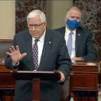 Bike accident hospitalizes ex-US Sen. Mike Enzi of Wyoming