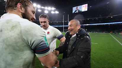 Chris Robshaw leading the way in his renaissance period as 'selfless' style earns respect of Eddie Jones