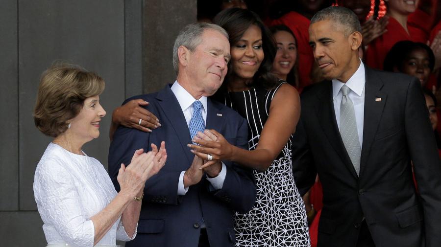 Michelle Obama: George W. Bush a 'sweet man'
