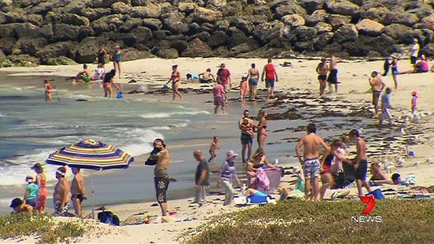 Perth sweltering through heatwave