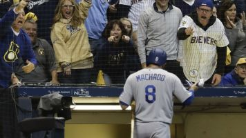 Brewers fans made life tough on Machado
