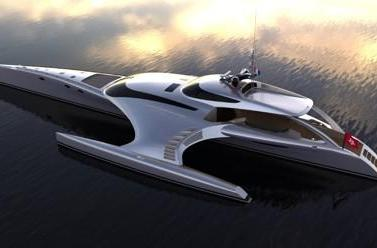 Super yacht controlled by an iPad