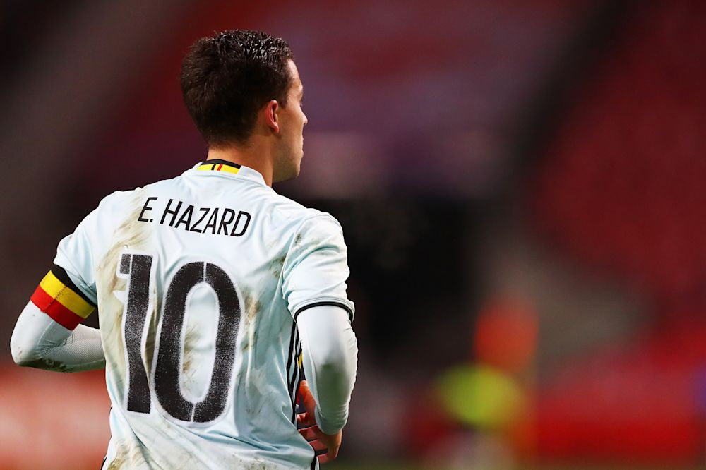 Toujours blessé, Hazard ratera Belgique-Grèce
