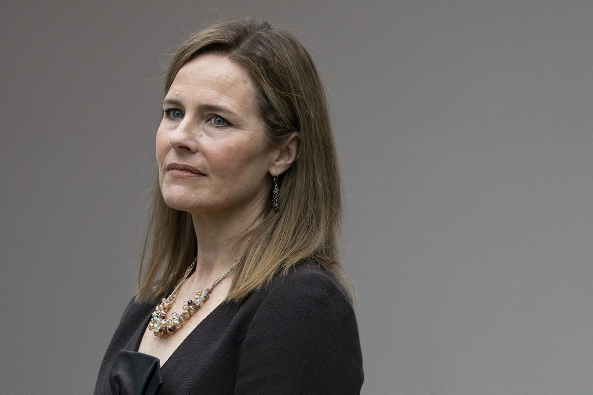 Amy Coney Barrett to begin meeting Senate Republicans
