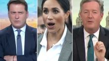 Karl Stefanovic and Piers Morgan at war over Meghan Markle
