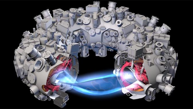 Twisty reactor hints at a future of practical fusion power