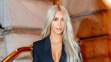 ¡Con ustedes la rubia Kim Kardashian!