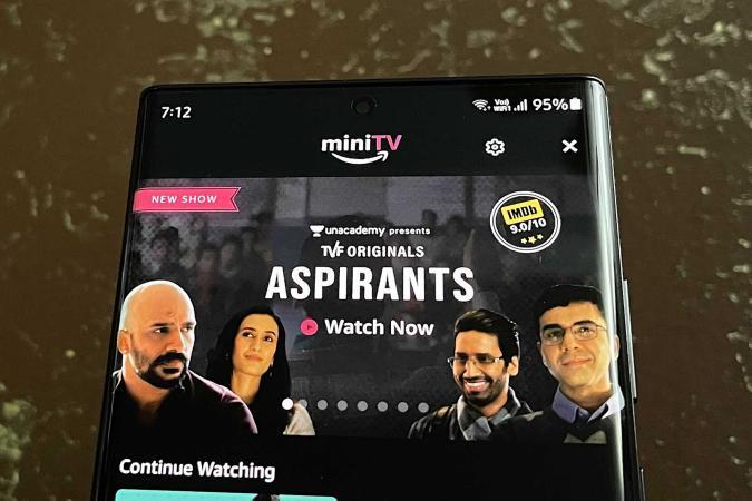 Amazon miniTV free video service for India
