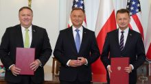 U.S. discussing Belarus with EU, says Pompeo