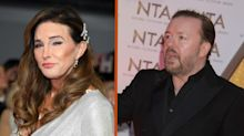 Ricky Gervais denies being snubbed by 'lovely, gracious' Caitlyn Jenner