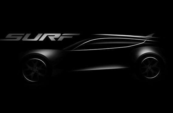 Fisker's shooting brake Surf EV to make waves at Frankfurt