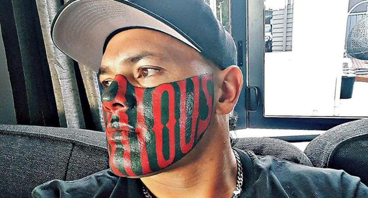 Man with 'notorious' face tattoo makes bizarre crowdfunding plea